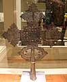 Etiopia, croce processionale copta, 1890-1910 ca. 02.jpg
