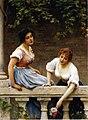 Eugene de Blaas - The Unseen Suitor (1898).jpg