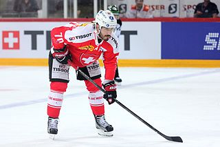 Denis Hollenstein Swiss ice hockey player