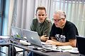 Europeana Sounds Editathon at the National Institute for Sound and Vision 15.jpg