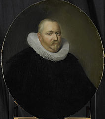 Portrait of Ewoud Pietersz van der Horst, Director of the Rotterdam Chamber of the Dutch East India Company, elected 1618