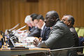 """Executive Secretary Lassina Zerbo speaks at CTBT side event at the 2015 NPT Review Conference """"The Urgency of Action on the CTBT- Contributing to International Peace and Security in an Increasingly Unstable World"""". (17103241757).jpg"""