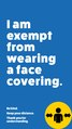 Exemption from face covering badge for mobile phone.pdf