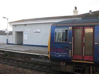 Exeter St Thomas railway station - Image: Exeter St Thomas 143603