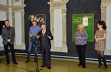 Exhibition Valery Pesin in Minsk Contemporary Arts Center 04.03.2015 05.JPG