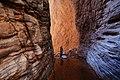 Exploring Stone Creek Canyon, off of the Colorado River. Grand Canyon National Park, Arizona (25778642704).jpg