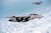 F-14B VF-102 EA-6B OSW - 1998