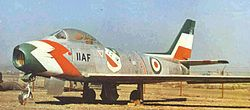 F-86 Sabre-golden crown-Imperial Iranian Air Force.jpg