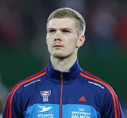 FIFA WC-qualification 2014 - Austria vs Faroe Islands 2013-03-22 - Odmar Færø 01.jpg