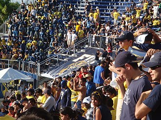 FIU Panthers football - FIU fans at the 2008 home opener game at Riccardo Silva Stadium versus South Florida.