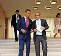 FM Urmas Paet met with Finnish Minister for European Affairs and Foreign Trade Alexander Stubb 22.08.2011 (6069066920).jpg