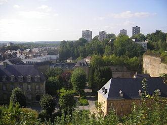Sedan, Ardennes - Sedan in mid-September 2007