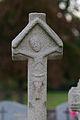 Face est de la croix de cimetière en batière (Pacé, Ille-et-Vilaine, France).jpg