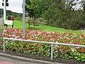 Fairlie picnic area flower garden - geograph.org.uk - 966174.jpg
