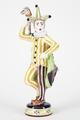Fajans, figur, Prins Carneval - Hallwylska museet - 90470.tif