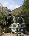 Falls in Swinner Gill - geograph.org.uk - 1288902.jpg