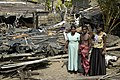 Family by their collapsed home, Mount Lavinia 2.jpg
