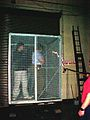 Faraday cage running at 110000 V.jpg