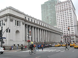 Politics of New York City - James A. Farley Post Office