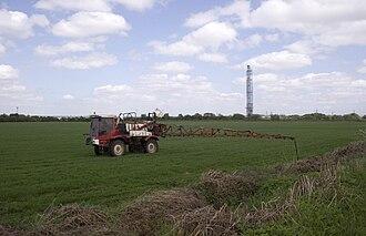 Carrington Moss - Image: Farming at carrington moss