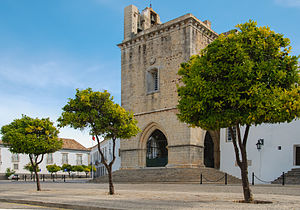 Faro, Portugal - The medieval Cathedral of Faro
