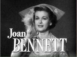 Father of the Bride (1950 film) - Joan Bennett in the film credits
