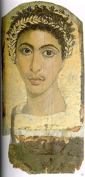 Ancient Egyptian race controversy - Image: Fayum 35