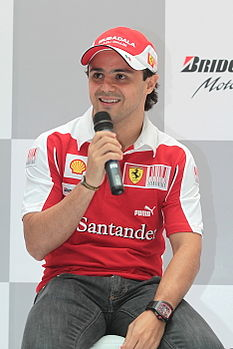 Felipe Massa at the press conference.jpg