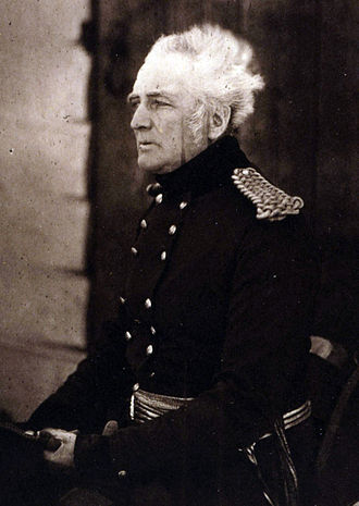 George Brown (British Army officer) - Sir George Brown, photographed by Roger Fenton in the Crimea in 1855