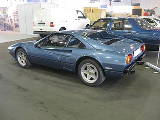 Ferrari 308 GTB/GTS - 208 GTB Turbo, rear view