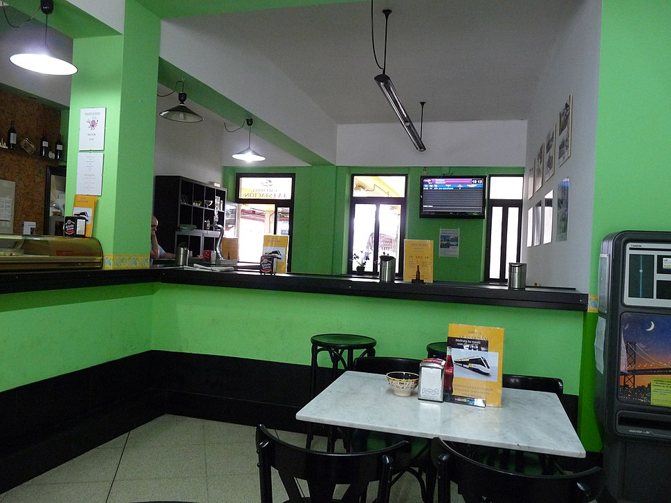 Ferrol station 2015 FEVE bar
