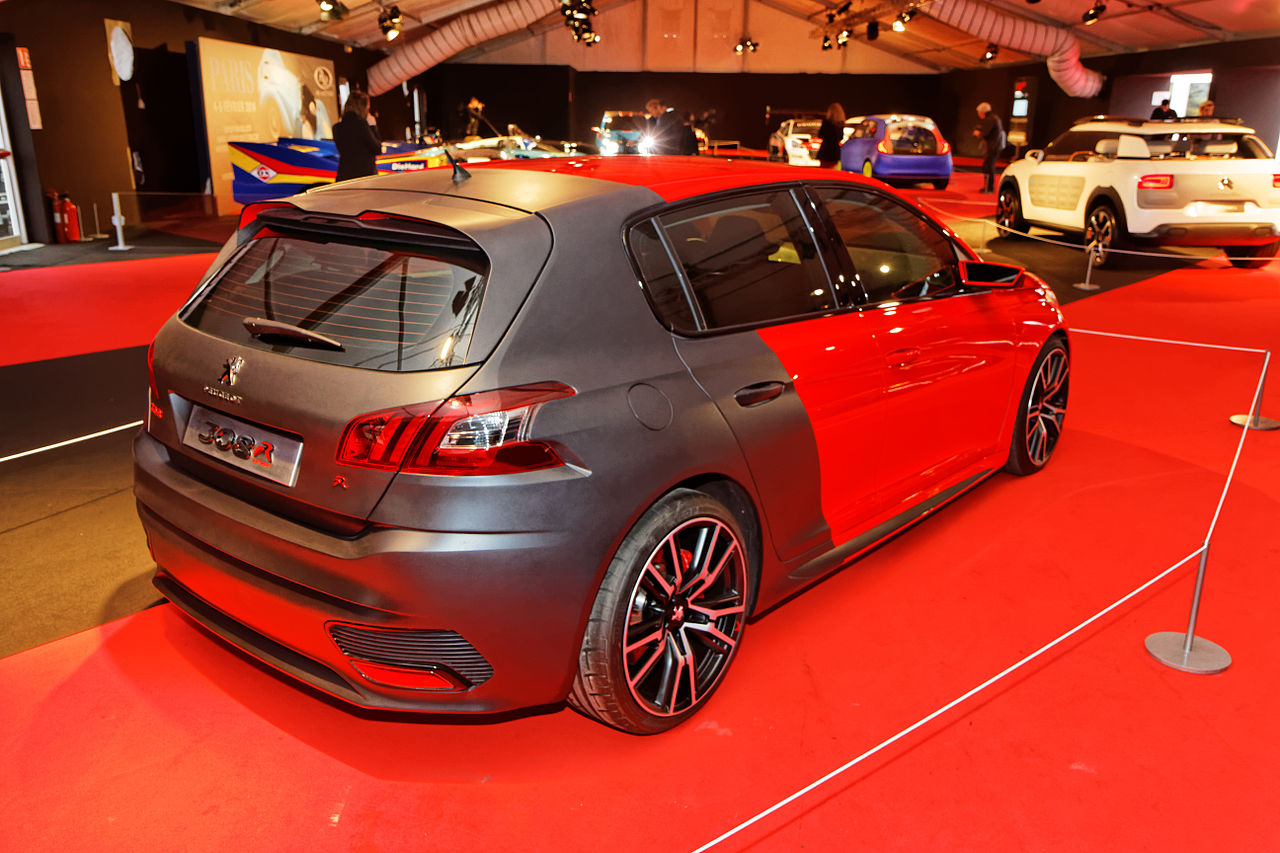 file festival automobile international 2014 peugeot 308 r concept wikimedia commons. Black Bedroom Furniture Sets. Home Design Ideas