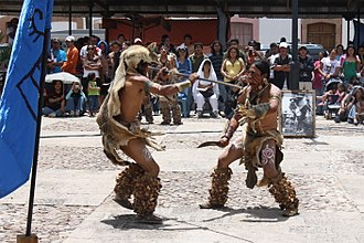 Chichimeca Jonaz - Members of the Chichimeca Jonaz tribe perform ritual dance