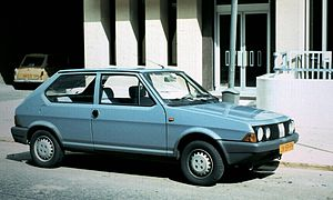 Fiat Ritmo - A second-series Fiat Ritmo 3-door