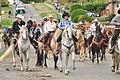 Fiestas Patrias Parade, South Park, Seattle, 2015 - 261 - the horses (21604751921).jpg
