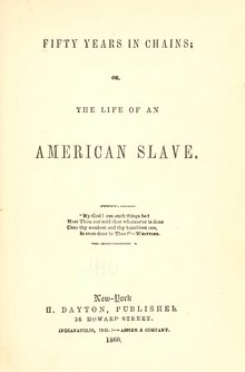 Fifty Years in Chains, or the Life of an American Slave.djvu
