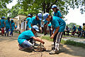 Fire-making - Survival Programme - Summer Camp - Nisana Foundation - Sibpur BE College Model High School - Howrah 2013-06-09 9657.JPG