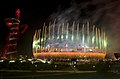 Fireworks light up Olympic Stadium in London during the opening ceremonies of the Paralympic Games Aug. 29, 2012 120829-F-FD742-269.jpg