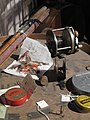 Fishing equipment from Rainbow Lodge (6974140915).jpg