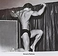 Fisicoculturismo argentino AFCA 1ª lugar Mr Valentin Alsina 1970 categoria Novicios.jpg altura 1,85 mts peso 89 kilos.jpg