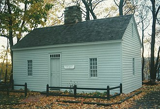Mill Hill Historic Park - Fitch law office building ca. 1740