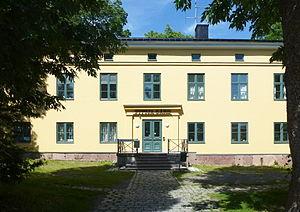 Fittja - Image: Fittja gård huvudbyggnad, 2014