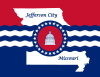 Flag of Jefferson City, Missouri.svg