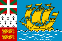 Flagg Saint-Pierre og Miquelon