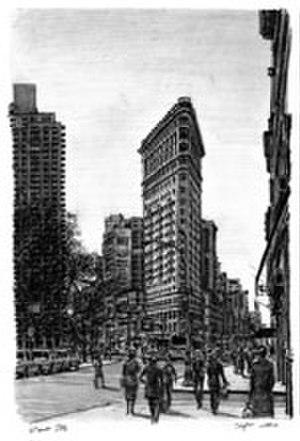 Stephen Wiltshire - Flatiron Building New York (2006)