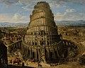 Flemish School - The Tower of Babel, 17th Century.jpg
