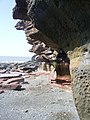 Fleswick Bay Cliffs - geograph.org.uk - 771728.jpg