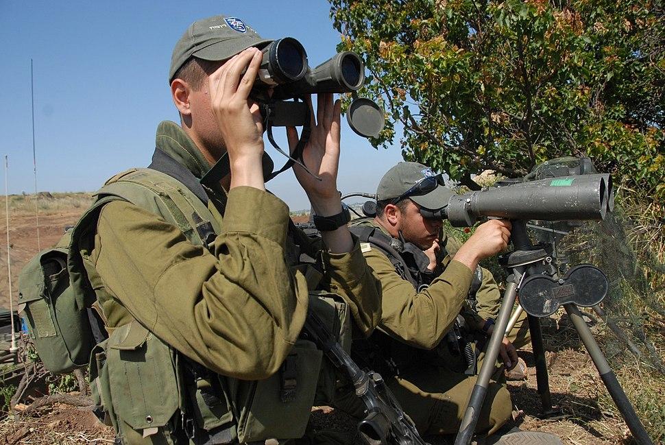 Flickr - Israel Defense Forces - IDF Soldiers Prepare Near Israeli-Syrian Border