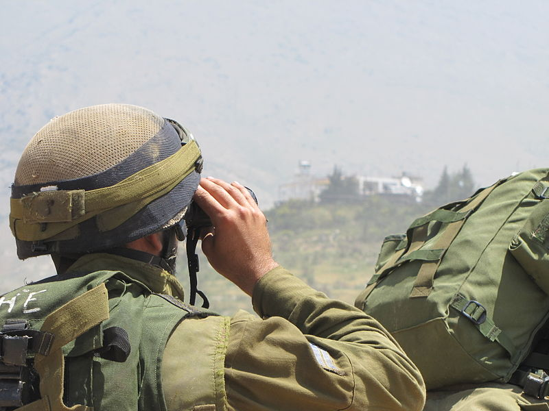 File:Flickr - Israel Defense Forces - IDF Soldiers Prepare Near Israeli-Syrian Border (1).jpg