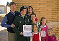Flickr - The U.S. Army - Pfc. Scott Wayne and family at the Patriot Academy.jpg